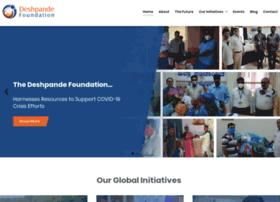 deshpandefoundation.org