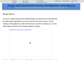 design-and-construction-services-for-nigerians-living-abroad.com