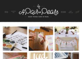 design.apairofpears.com