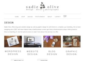 design.sadieolive.com