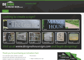 designahousesign.co.uk