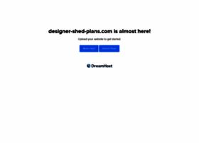 designer-shed-plans.com