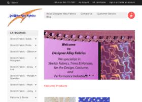 designeralleyfabrics.com