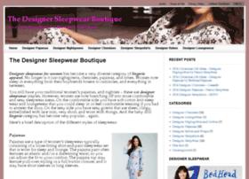 designersleepwearboutique.com
