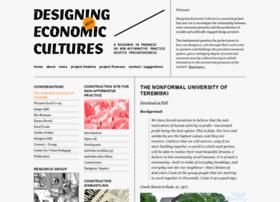 designingeconomiccultures.net