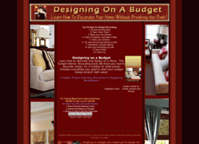 designingonabudget.com