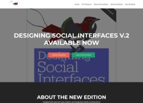 designingsocialinterfaces.com