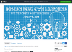 designyourownlearningjan5gi2015.sched.org