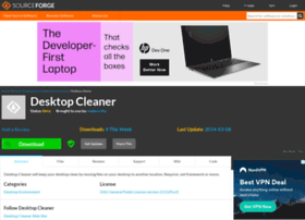 desktopcleaner.sourceforge.net