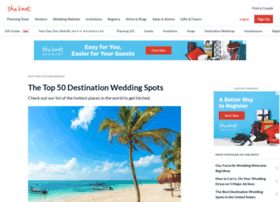 destinationweddingsbytheknot.com