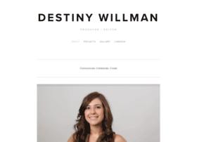 destinywillman.com