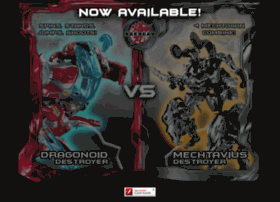 destroyershowdown.bakugan.com