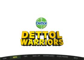 dettolwarriors.com
