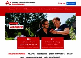 deutsche-alzheimer.de