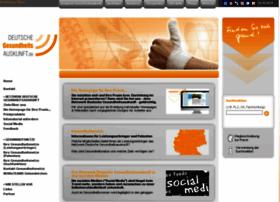 deutsche-gesundheitsauskunft.com