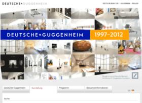 deutsche-guggenheim.de