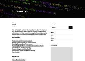 dev-notes.com