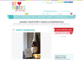 Dev-weheartparties.codesamurai.com
