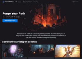 dev.battle.net
