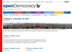 dev.opendemocracy.net