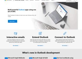 dev.outlook.com