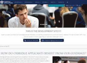 dev.oxbridgeapplications.com