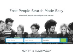 dev.peekyou.com