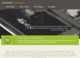 dev.progenealogists.com