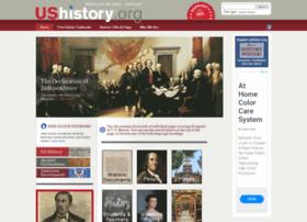 dev.ushistory.org