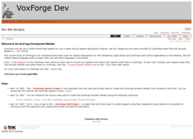 dev.voxforge.org