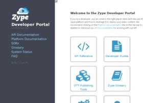 dev.zype.com