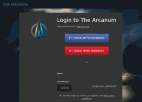 devapp.thearcanum.com