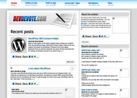 devdevote.com