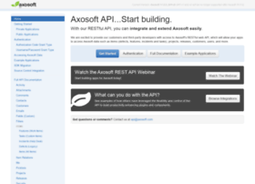 developer.axosoft.com