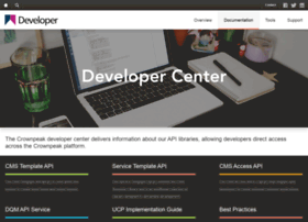 developer.crownpeak.com