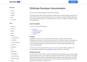 developer.dnsimple.com