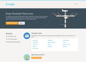 developer.exigo.com