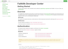 developer.faithlife.com