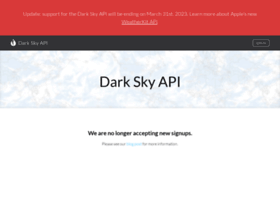 developer.forecast.io