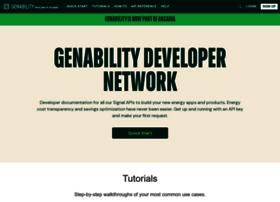 developer.genability.com