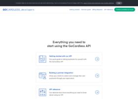 developer.gocardless.com