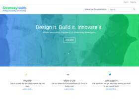 developer.greenwaymedical.com