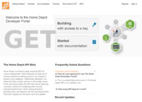 developer.homedepot.com