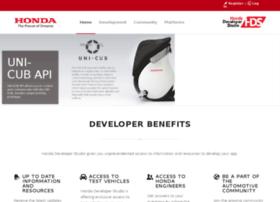 developer.hondasvl.com