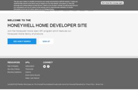 developer.honeywell.com