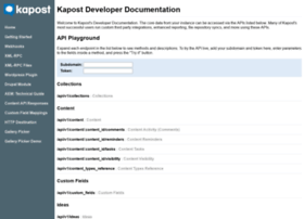 developer.kapost.com
