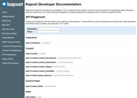 developer.kapost.com