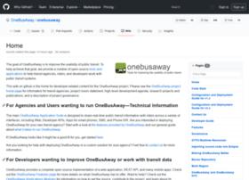 developer.onebusaway.org