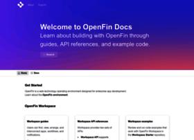 developer.openfin.co