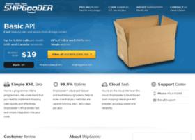 developer.shipgooder.com
